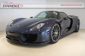 porsche 918 exterior used 2015 porsche 918 spyder weissach package for sale fort