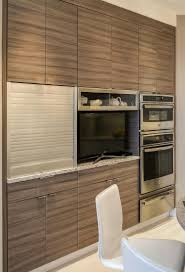 Kitchen Cabinet Features Contemporary Denver Kitchen Features White Glass Cabinets