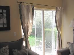 curtain top 10 contemporary kitchen sliding door curtain ideas