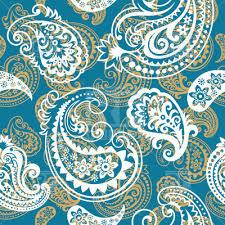 paisley pattern vector seamless blue paisley pattern royalty free vector clip art image
