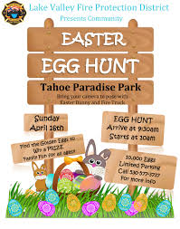 lake valley fire protection district u0027s 2nd annual easter egg hunt