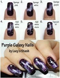 nail art 49 exceptional galaxy nail art images inspirations