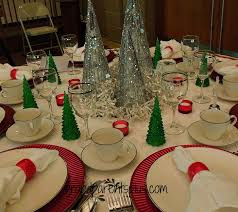red and silver christmas table settings 39 christmas table place settings christmas table place setting
