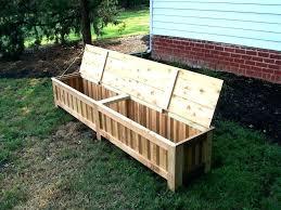 Garden Bench With Storage Garden Bench Storage Seat Wooden Garden Seat Garden Bench Storage
