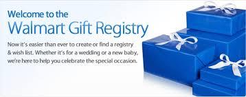walmart wedding gift registry gift registry personal wish list walmart and gift