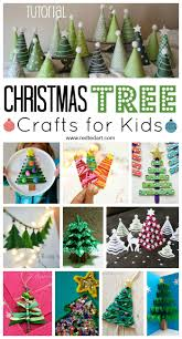easy christmas tree crafts for kids red ted art u0027s blog