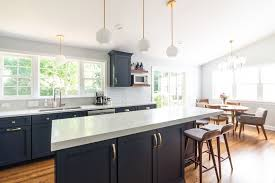 pictures of navy blue kitchen cabinets design trend blue kitchen cabinets