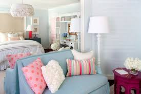 Bedroom Pink And Blue Pink And Blue Teen Bedroom Contemporary U0027s Room Kristin