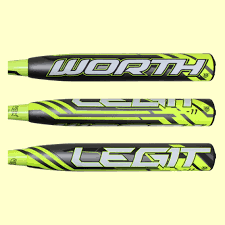 worth legit worth legit 11 2 1 4 fastpitch softball bat fplg11 discontinued