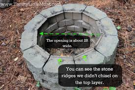 Cheap Firepit Cheap Pit Ideas Easy Diy Inexpensive Firepit For Backyard