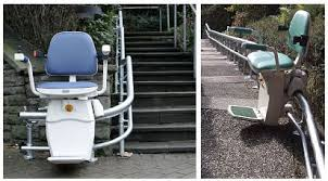 outdoor stairlifts charron medical