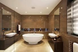 Round Bathtub Modern Modern Brown Bathroom Tiles Bathroom Designs Archives