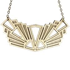 necklace art images Laser cut necklaces diamonds are evil jpg