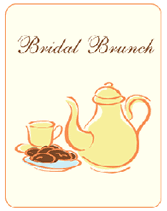 brunch invitation template free bridal brunch printable invitations templates