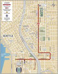 Seattle Public Transportation Map by Public Transportation Options Seattle Central International