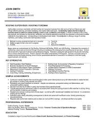 Maintenance Foreman Resume 49 Best Management Resume Templates U0026 Samples Images On Pinterest