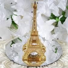 6 inches paris eiffel tower centerpieces wedding party home