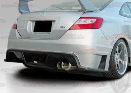 2007 honda civic si coupe kits 2006 2011 honda civic coupe gti rear bumper by ait hc06bmgtirb2