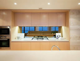 blonde hanging kitchen cabinets for unique look hanging cabinets