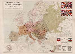 European Union Map An Extraordinary Map Of A Proposed European Union U2026 In 1920