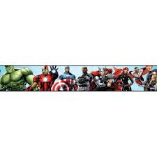 Kitchen Wallpaper Borders Walt Disney Kids Ii Avengers Border Walmart Com
