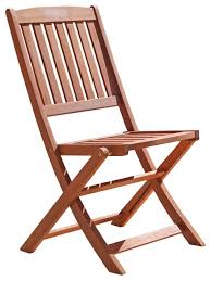 outdoor wood folding bistro chairs set of 2 transitional