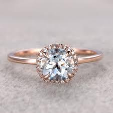 Aquamarine Wedding Rings by Best Aquamarine Engagement Rings Products On Wanelo