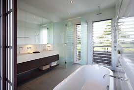 Modern Bathrooms Australia by Luxury Modern Residence With Breathtaking Views Of Glass House