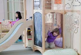 chambre enfant toboggan enfant toboggan pouf tout confort chambre fille garcon