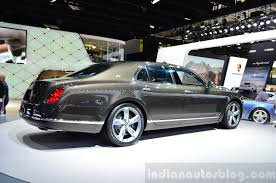 bentley rear bentley mulsanne speed rear three quarters indian autos blog