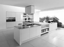 modern white kitchens rectangle white solid wood kitchen table