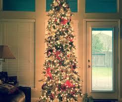 grand glittery pine slim tree trees at hayneedle glittery pine