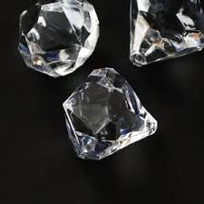 clear gemstones clear acrylic diamonds decorative gems