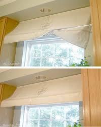 Valance For Kitchen Window Best 25 Kitchen Window Valances Ideas On Pinterest Window