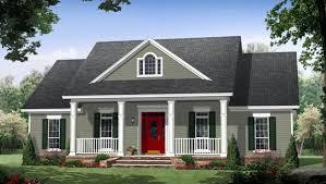 colonial home plans house plan 59952 at familyhomeplans com