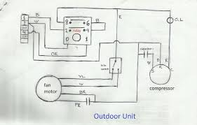ac compressor wiring diagram electrical wiring diagrams for air