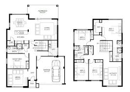 five bedroom home plans beautiful 5 bedroom storey house plans new home plans design