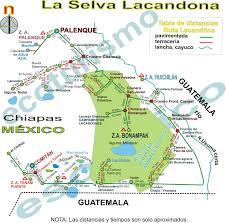 Chiapas Mexico Map The Next Adventures