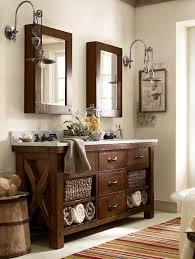 pottery barn bathroom lighting 25 ideas para darle a tu baño un toque rústico pottery barn style
