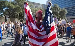 El Paso Texas Flag Photos Trump Inauguration Sparks Protests Across Texas