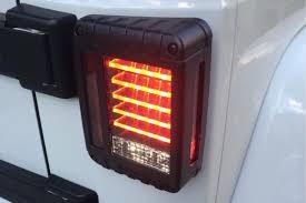 jeep lights jw speaker 279j led tail lights jeep wrangler complete