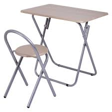 Desk And Chair For Kids by Kids Folding Study Writing Desk Table Chair Set Office Furniture