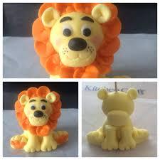 lion cake topper fondant lion cake topper fondant lion cakes