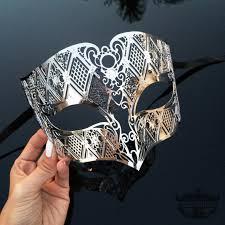 masquerade masks mens silver men s masquerade mask mens mask silver