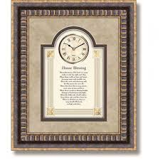 Blessings Home Decor by Home Accents Decor House Blessings 3d Wall Wall Clock House