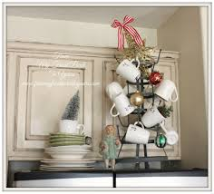 Vignette Home Decor From My Front Porch To Yours French Farmhouse Holiday Kitchen