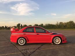 mitsubishi red used 2000 mitsubishi lancer evolution vii for sale in abingdon