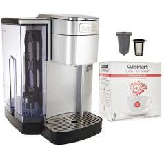 Cuisinart SS10 Single Serve Coffee Maker w Barista Cup & 18 Coffee