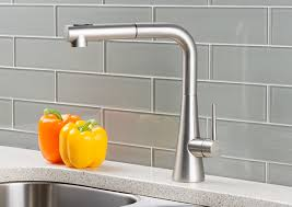 kitchen faucets stainless steel pull out hahn contemporary duo single lever pull out kitchen faucet