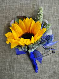 sunflower corsage andrew s garden corsage prom flowers naperville boutonniere